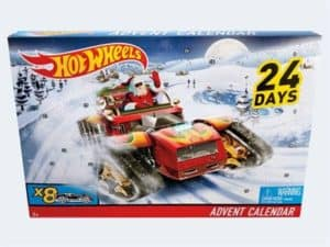 Hot Wheels julekalender til drenge